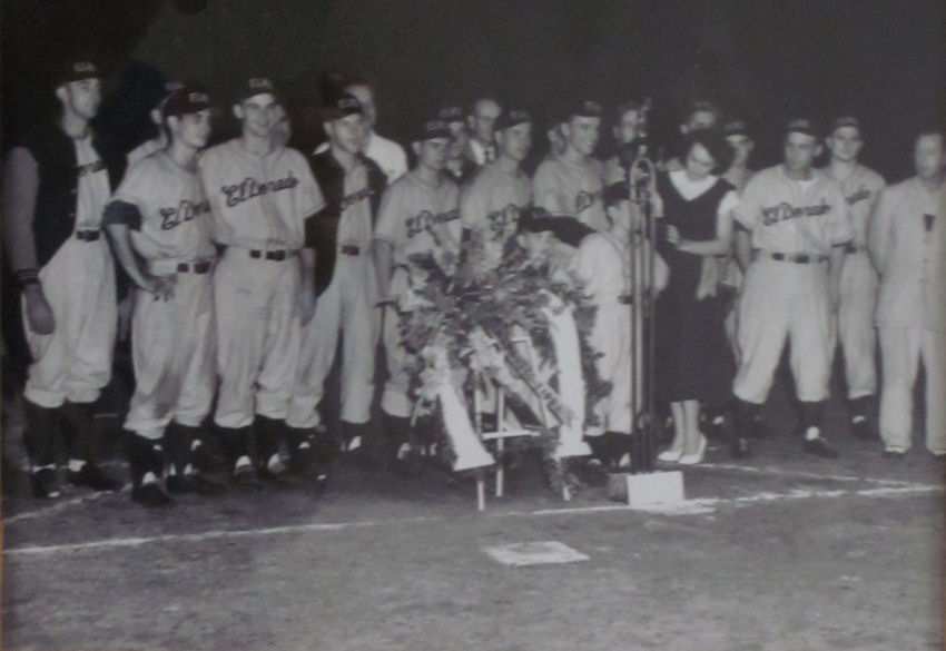 1950 Elks Baseball Team